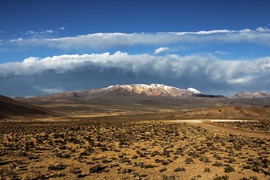 Camino a Parinacota